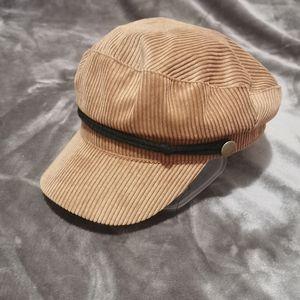 Velour fiddler cap
